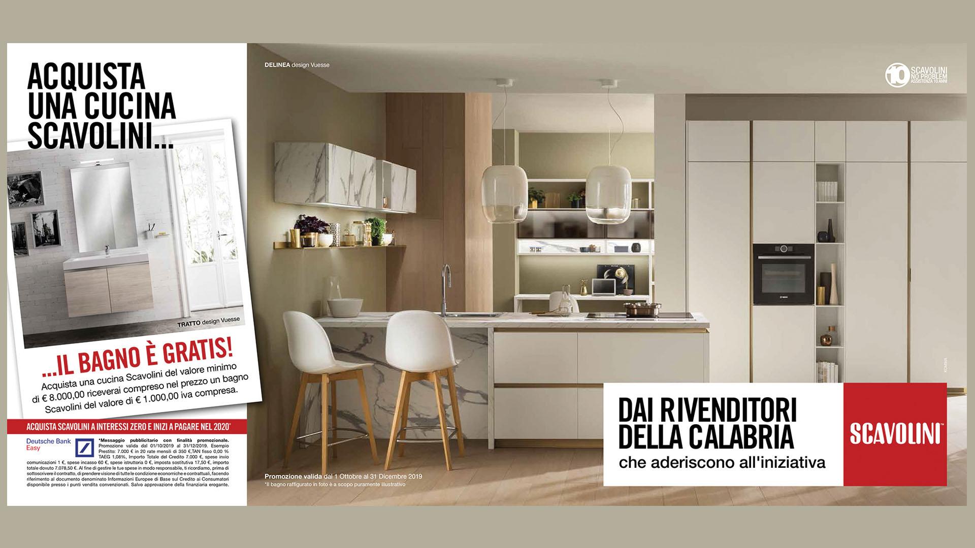 Progettare Cucina On Line Gratis cucina de linea cucina senza maniglia scavolini - cucine